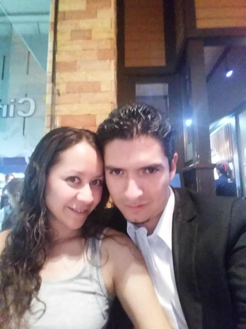 Gustavo Millares y Miram Aguilera